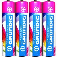 Baterie Grundig LR03 AAA 1,5 V Alkaline 4 ks