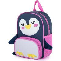 Karton P+P Batoh detský predškolský Funny Tučniak