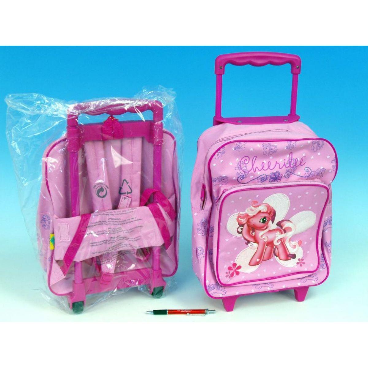 Batoh/Taška na kolečkách My Little pony růžová