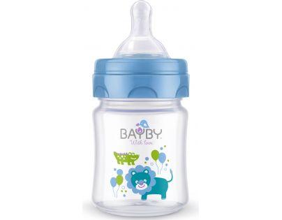 Bayby Kojenecká láhev 120 ml modrá