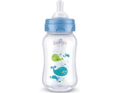 Bayby Kojenecká láhev 250 ml modrá