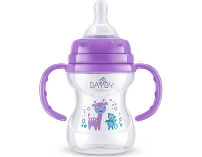 Bayby Kojenecká láhev fialová 150 ml od 6 měsíců