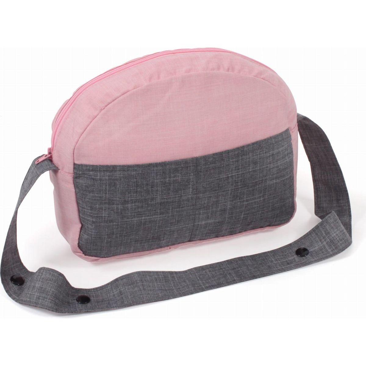 Bayer Chic Přebalovací taška ke kočárku šedorůžová