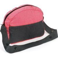 Bayer Chic Přebalovací taška ke kočárku pro panenky růžovošedá