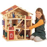 Bayer Chic Domeček dřevo 3 podlažní 2