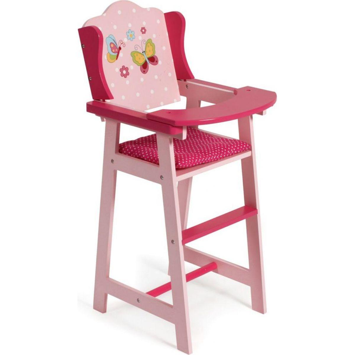 Bayer Chic Jídelní židlička s motýlky