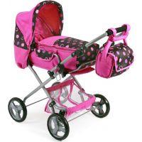 Bayer Chic Kočárek pro panenky Bambina - Pinky Balls 2