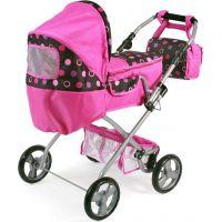 Bayer Chic Kočárek pro panenky Bambina - Pinky Balls 3