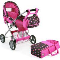 Bayer Chic Kočárek pro panenky Bambina - Pinky Balls 4