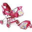 Bayer Chic Kočárek pro panenky Bambina - Pinky Bubbles 2