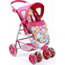 Bayer Chic Kočárek pro panenky Bellina 2v1 - Pinky Bubbles 3