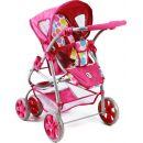 Bayer Chic Kočárek pro panenky Bellina 2v1 - Pinky Bubbles 4