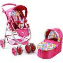 Bayer Chic Kočárek pro panenky Bellina 2v1 - Pinky Bubbles 5