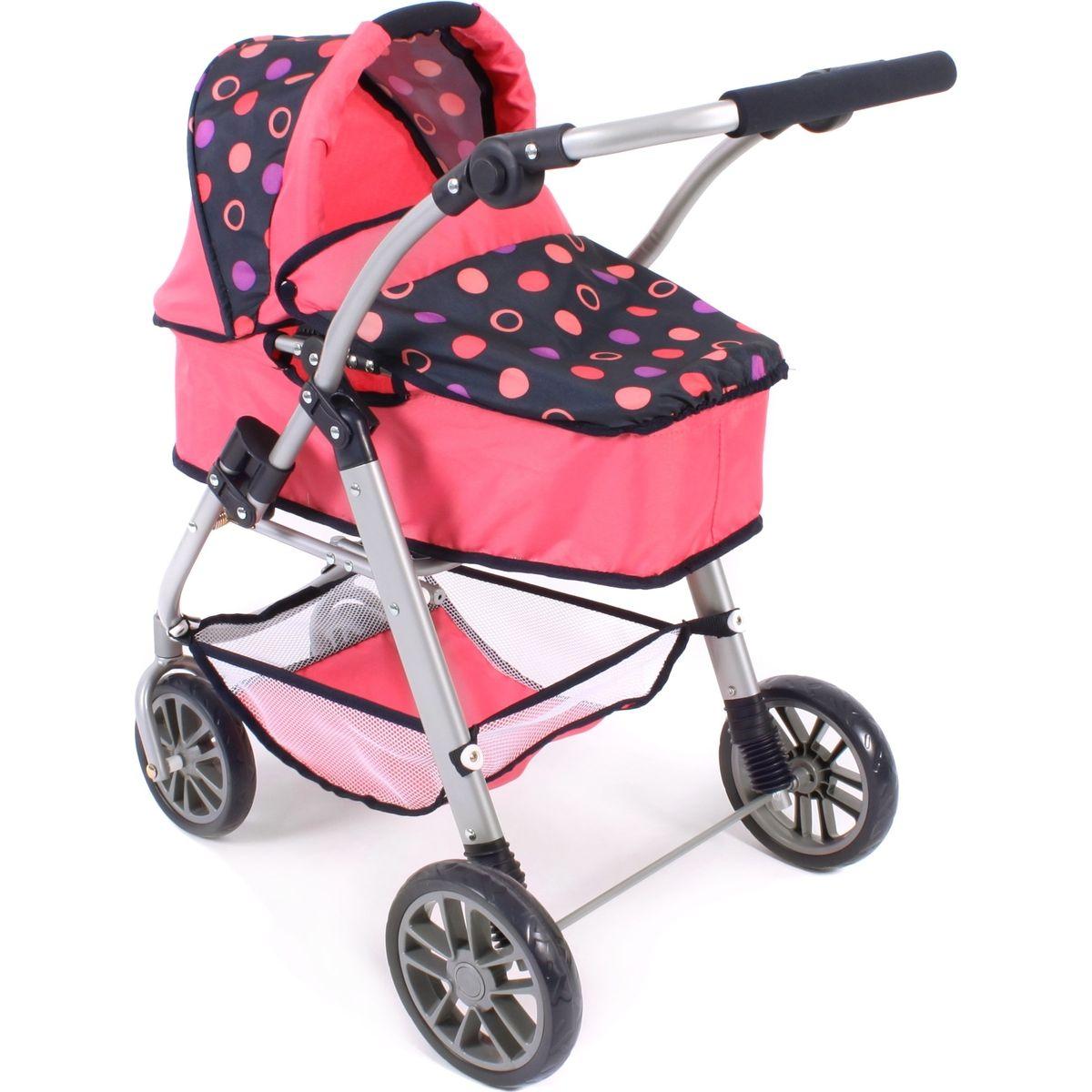 Bayer Chic Kočárek pro panenky Emilia - Corallo