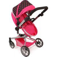 Bayer Chic Kočárek pro panenky Kombi Yolo - Pink 3