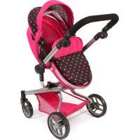 Bayer Chic Kočárek pro panenky Kombi Yolo - Pink 4