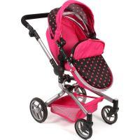 Bayer Chic Kočárek pro panenky Kombi Yolo - Pink 5