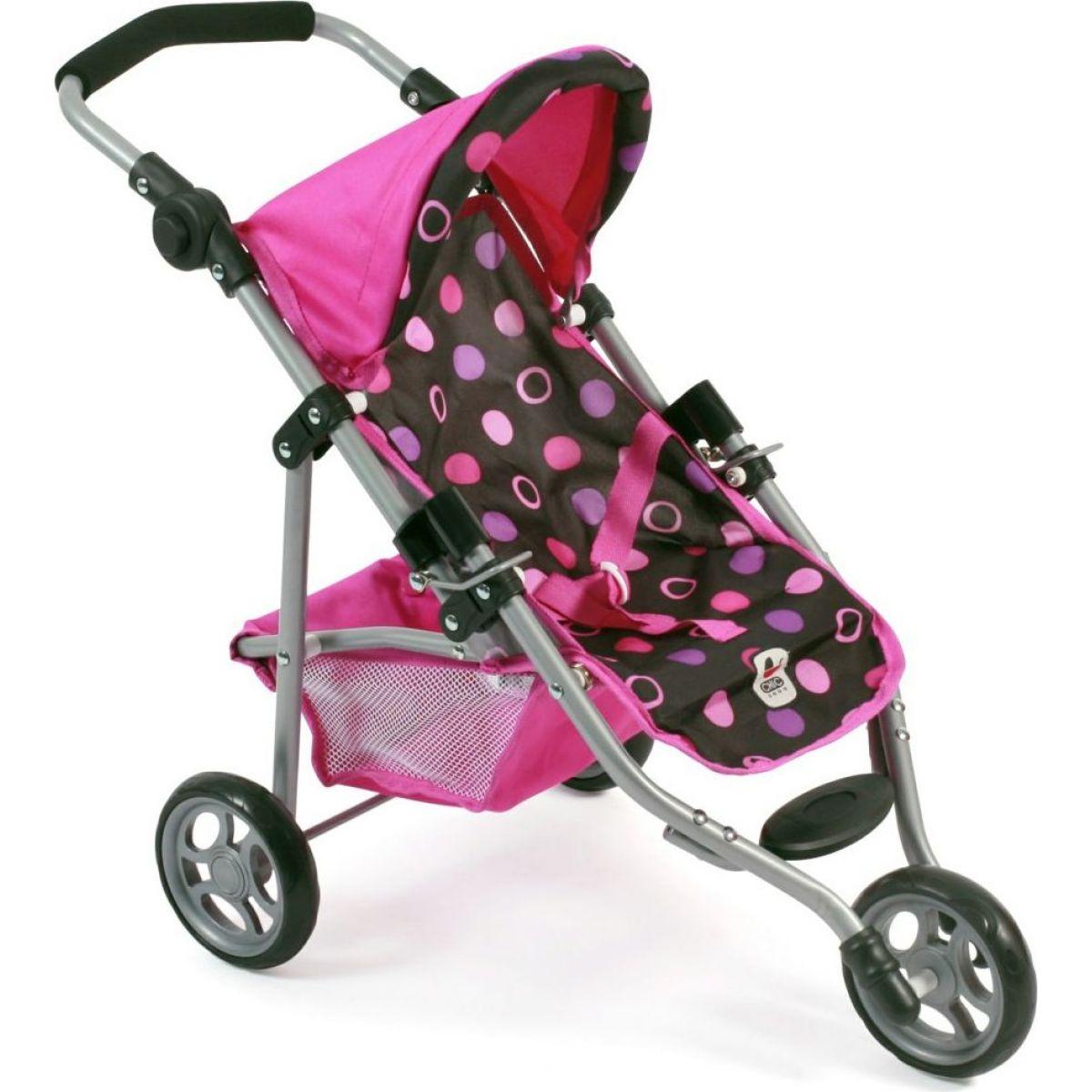 Bayer Chic Kočárek pro panenky Lola - Pinky Balls