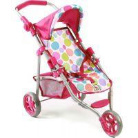 Bayer Chic Kočárek pro panenky Lola - Pinky Bubbles