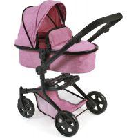 Bayer Chic Kočárek pro panenky Mika Pink Jeans