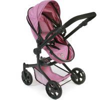 Bayer Chic Kočárek pro panenky Mika Pink Jeans 3