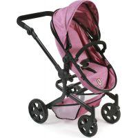 Bayer Chic Kočárek pro panenky Mika Pink Jeans 5