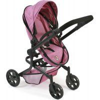 Bayer Chic Kočárek pro panenky Mika Pink Jeans 6