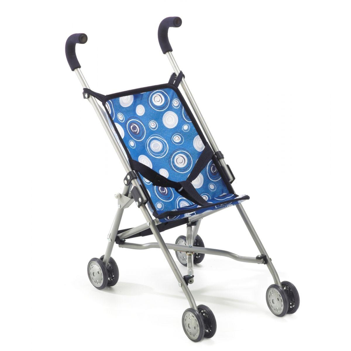 Bayer Chic Kočárek pro panenky Mini Buggy Roma - Blue Boy