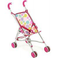 Bayer Chic Kočárek pro panenky Mini Buggy Roma - Pinky Bubbles