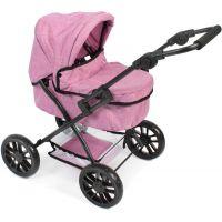 Bayer Chic Kočárek pro panenky Picobello Jeans růžová