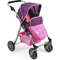 Bayer Chic Kočárek pro panenky Speedy Dots purple pink 3