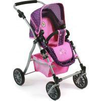 Bayer Chic Kočárek pro panenky Speedy Dots purple pink 4
