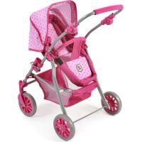Bayer Chic Kočárek pro panenky Speedy Pink Dots 2