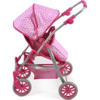Bayer Chic Kočárek pro panenky Speedy Pink Dots 3