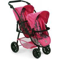 Bayer Chic Kočárek pro panenky Vario - Hvězdičky růžová