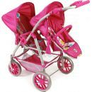 Bayer Chic Kočárek pro panenky Vario - Pinky Bubbles 2