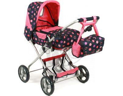Bayer Chic Kočárek pro panenky Bambina - Corallo