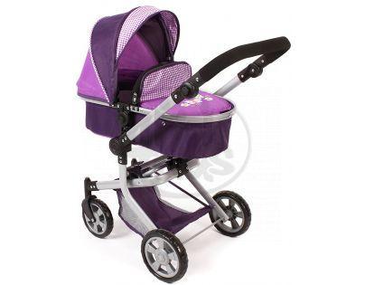 Bayer Chic Kočárek pro panenky Mika - Purple