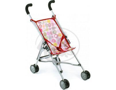 Bayer Chic Kočárek pro panenky Mini Buggy Roma - Ruby Red