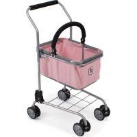 Bayer Chic Nákupní vozík s košíkem Melange Roze