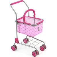 Bayer Chic Nákupní vozík s košíkem Pink Dots