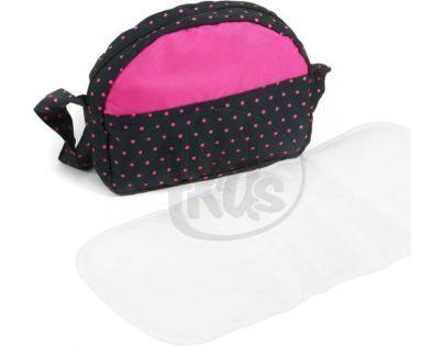 Bayer Chic Přebalovací taška ke kočárku - Dots Navy Pink