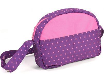Bayer Chic Přebalovací taška - Dots purple pink - Poškozený obal