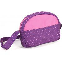 Bayer Chic Přebalovací taška - Dots purple pink