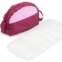 Bayer Chic Přebalovací taška ke kočárku - Dots Brombeere