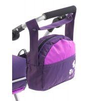 Bayer Chic Přebalovací taška na kočárek Plum