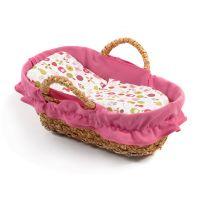 Bayer Chic Proutěný košík růžový
