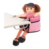 Bayer Chic Sedačka pro panenky Pink Checker