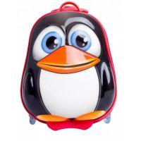 Bayer Chic Skořepinový kufřík s kolečky tučňák