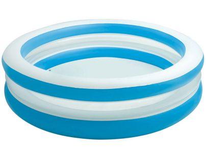 Intex 57489 Bazén kruhový průhledný 203cm - Modrobílá